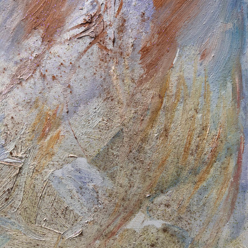 Section of the painting Tree of Light