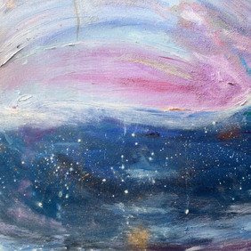 Section of the painting Kiss of Light