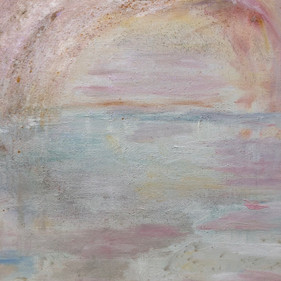 Section of the painting Meri, Heaven & Earth