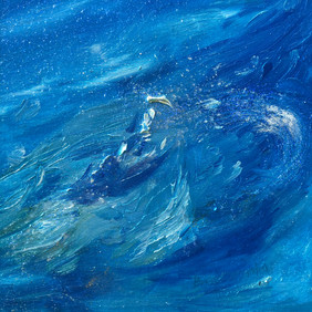 Section of the painting Holy Aqua