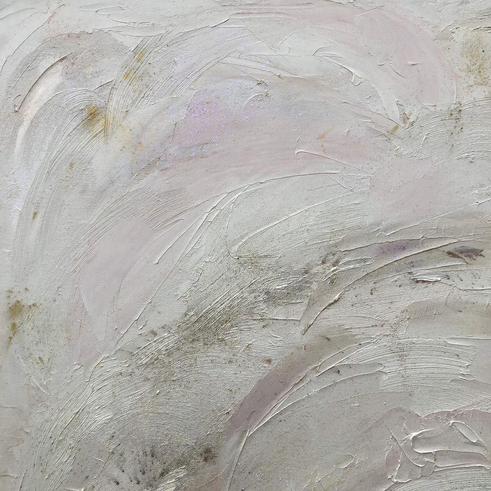 Section of painting Light of The White Rose