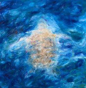 Full size painting Eternally 100cmx100cm