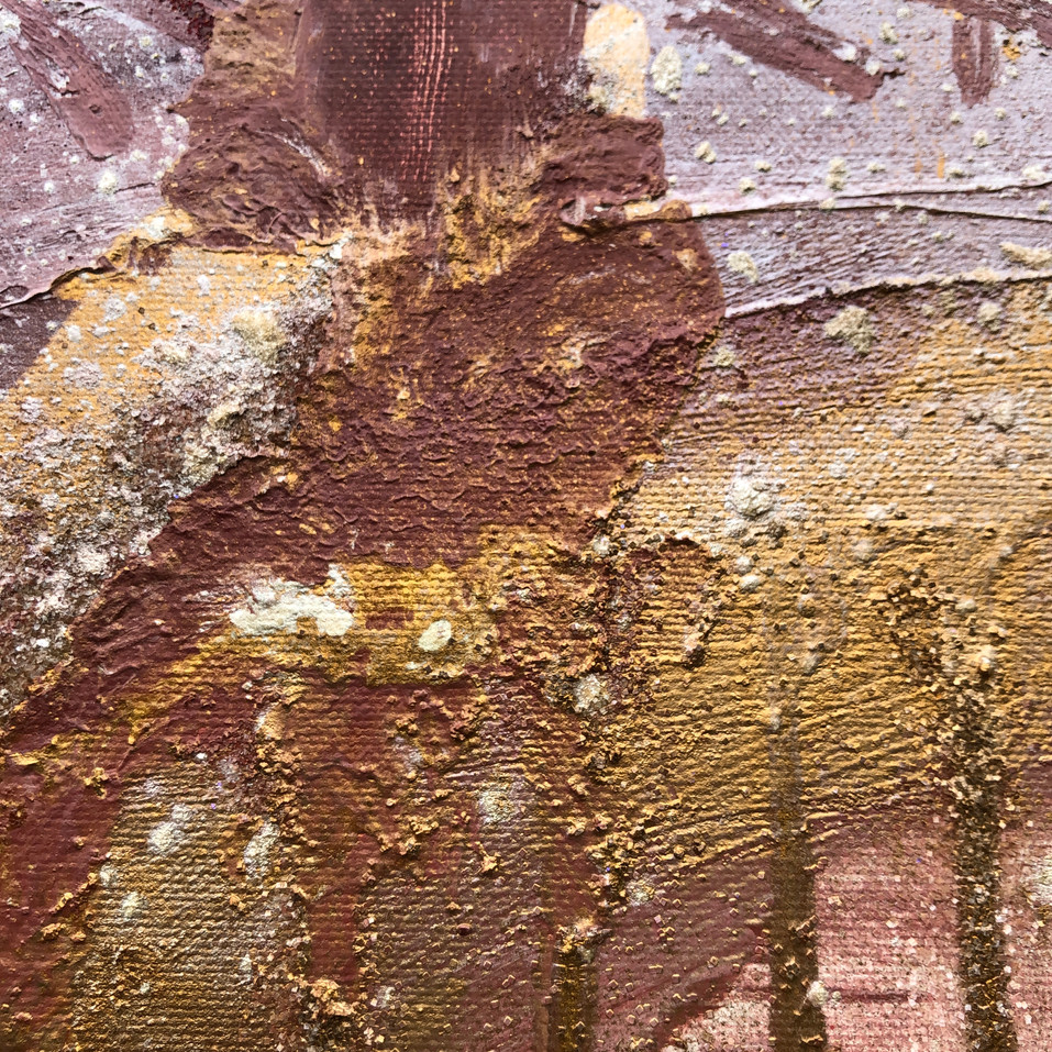 Section of the painting MoonMagic