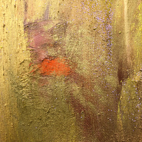 Section of painting Gold 999, The Vault