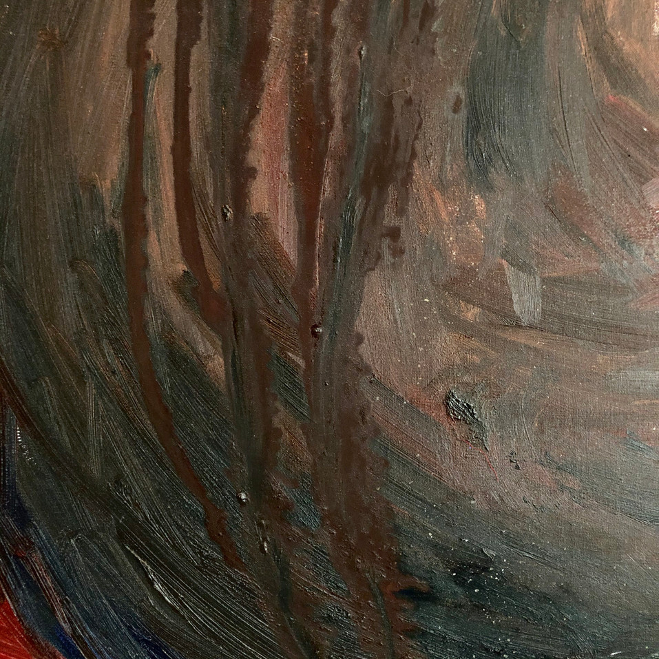 Section of the painting Beyond