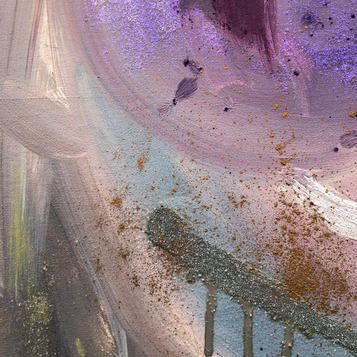 Section of the painting Moments