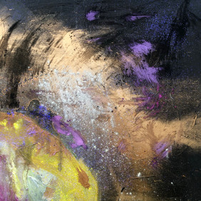 Section of the painting First light