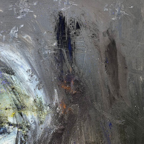 Section of the painting Black Emergence