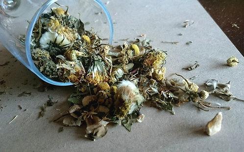 Dandelion Daiquiri Hay Topper