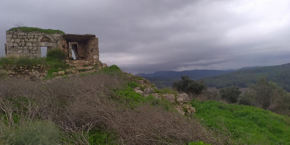טיול של תקווה ושקט בין לטרון למצפה הראל-יום שני