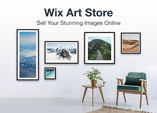 Wix Art Store Overview Wix App Market Wix Com