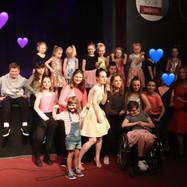 "Honorata Perzanowska and her students, ""Kreacje Live Show"", photo Paweł Bosky, Poland 2019"