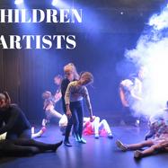 "Honorata Perzanowska students, ""All children are artists"" etude, ""Kreacje Live Show"", photo Agnieszka Słowikowska, Poland, January 2020"
