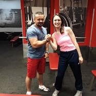 Honorata Perzanowska and Sebastian Kuliński, Personal Trainer Course, Poland 201