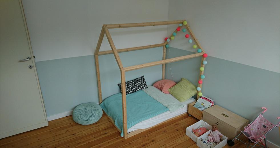 Construction d'un lit pour enfant en bois