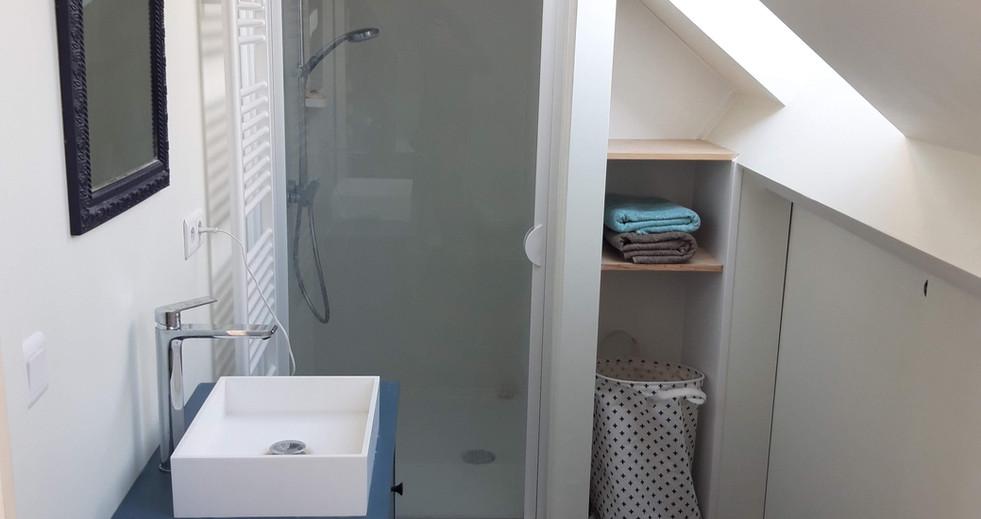 Installation d'une salle de douche