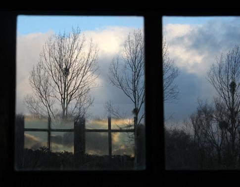 Reflet vitre