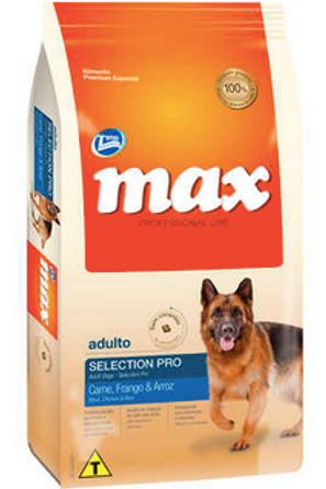 Ração Total Max Professional Line Selection Pro Carne, Frango & Arroz- Cães 15Kg