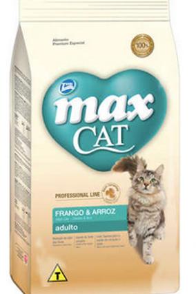 Ração Total Max Cat Line Frango e Arroz para Gatos Adultos