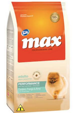 Ração Total Max Cordeiro Frango e Arroz para Cães Adultos de Raças Pequenas 2Kg