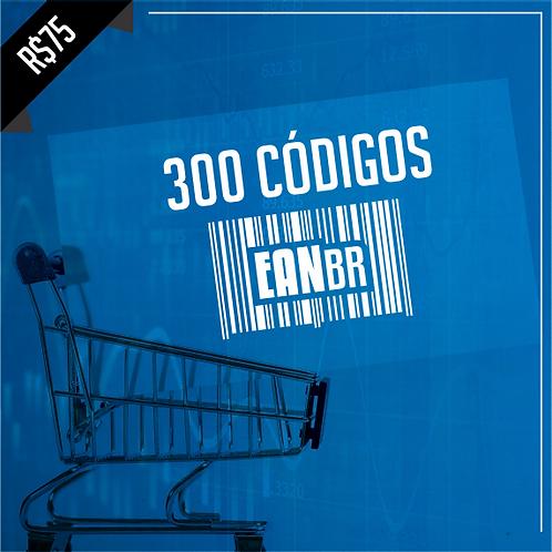 300 Códigos EANBR