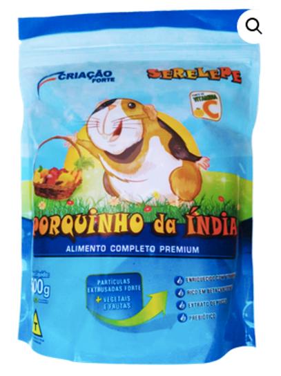 Ração Serelepe Porquinho da Índia