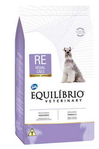 Ração Seca Total Equilíbrio Veterinary RE Renal Cães Adultos 2Kg