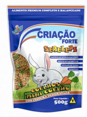 Ração Serelepe Coelhos & Mini Coelhos