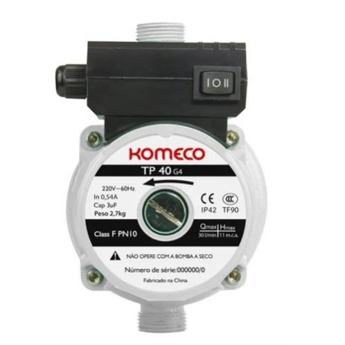 Pressurizador Komeco Tp40 G4 220v Enviando normalmente