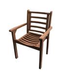 Cadeira empilhável Plisten, cor: Polisten