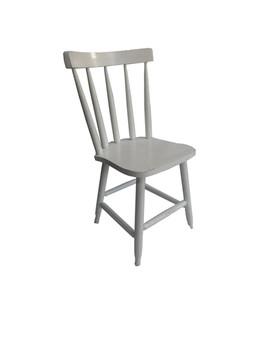 Cadeira fixa lisa branca