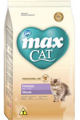 Ração Total Max Cat Line Frango para Gatos Filhotes - 1Kg