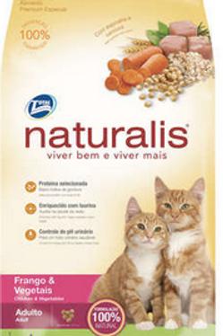 Ração Total Naturalis Frango e Vegetais para Gatos Adultos - 1Kg