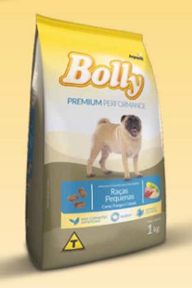 Bolly Premium Performance / Raças Pequenas - Carne, Frango e Cereais