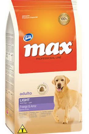 Ração Total Max Light Frango e Arroz para Cães Adultos