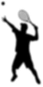 Теннисист фигура