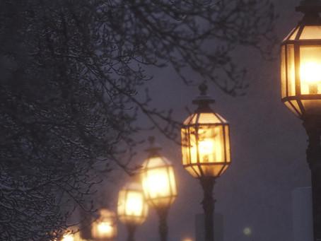 Уличное освещение - монтаж
