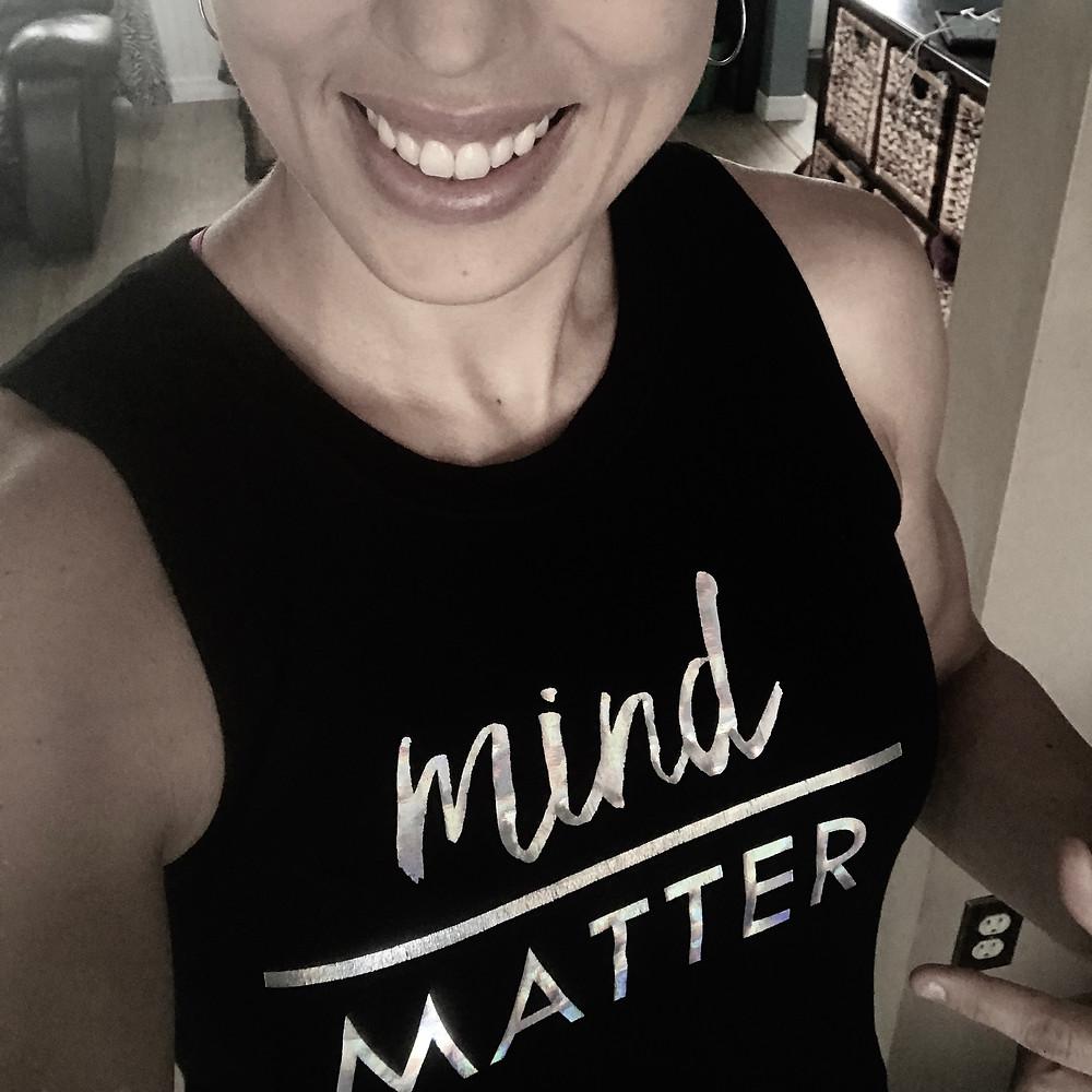 mind over matter smiling shirt girl happy