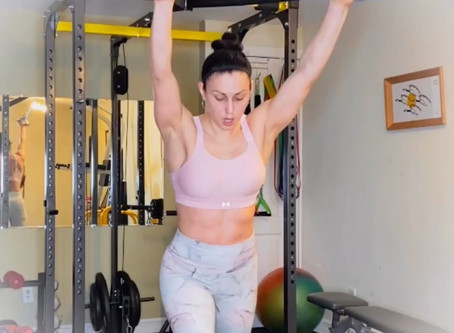 FULL BODY CARDIO AND STRENGTH WORKOUT!