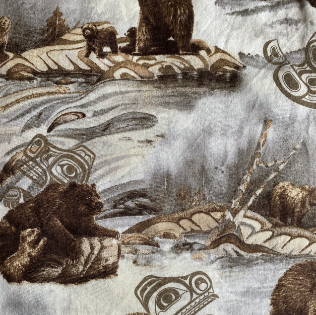 Tribal Bear Brown