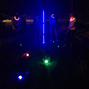 Glow In the Dark Mini Golf