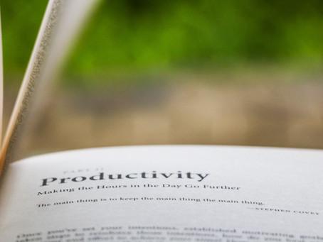 One's Lifestyle: Como anda a sua produtividade?