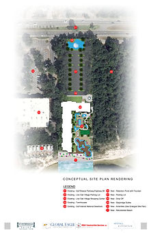 STAYBRIDGE - CONCEPTUAL SITE PLAN RENDER