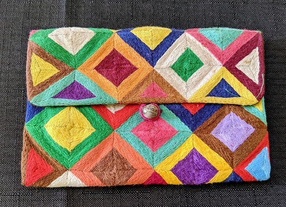 Embroidered Small Purse
