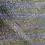 "Thumbnail: upcycled silk sari ""kantha"" scarf -floral blue, lavender-grey-green"