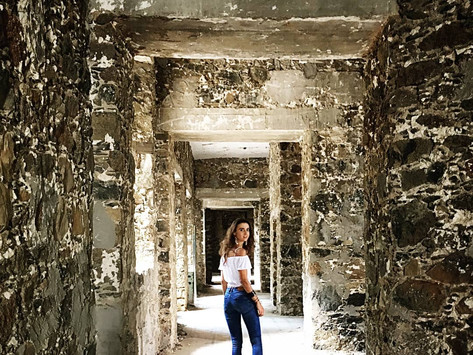 The abandoned Berengaria hotel in Prodromos