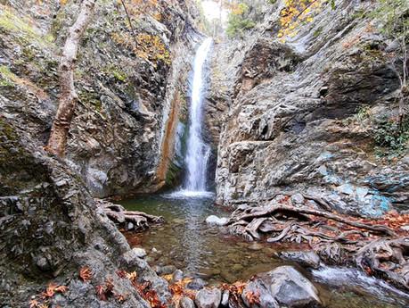Trail Millomeris Waterfalls