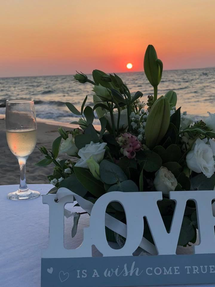 Coral Wedding Plan