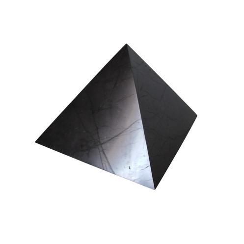 15 cm shungite polished pyramid