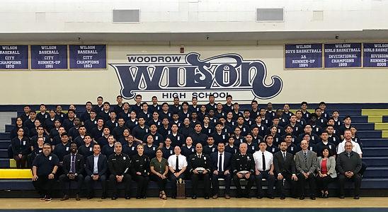 Woodrow Wilson High School Fire Academy Program 2019